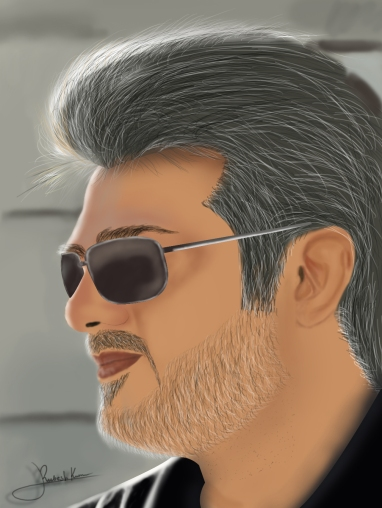 ajith-digital-painting