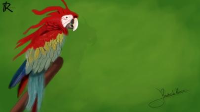 bird-digital-painting