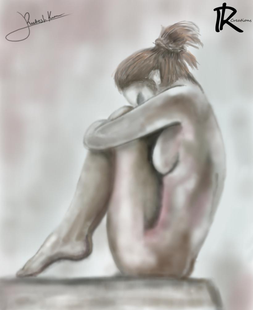 girl naked